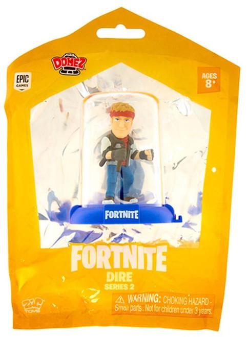 Domez Fortnite Series 2 Dire Mini Figure