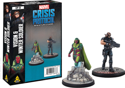 Marvel Crisis Protocol Vision & Winter Soldier Character Pack