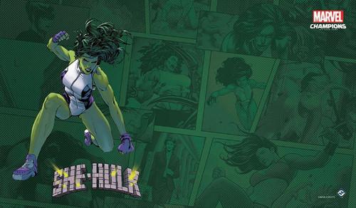 Marvel Champions LCG She-Hulk Game Mat