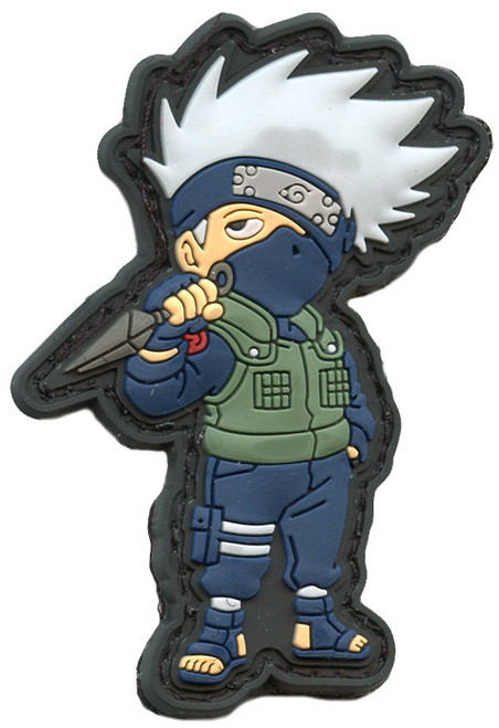 Naruto Shippuden Morale Patches Kakashi Hatake 2.5-Inch PVC Patch