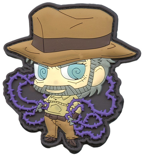 JoJo's Bizarre Adventure Morale Patches Hermit Purple 3-Inch PVC Velcro Patch