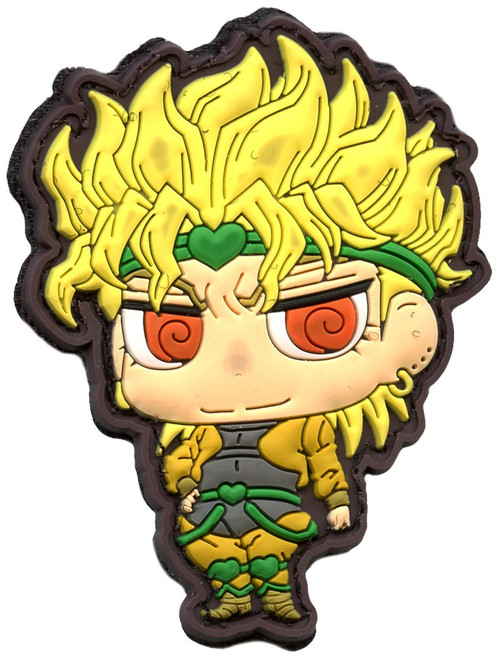 JoJo's Bizarre Adventure Morale Patches DIO 3-Inch PVC Velcro Patch
