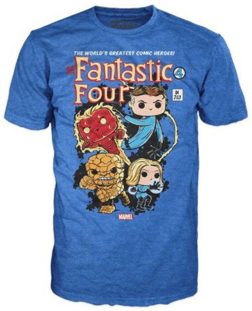 Funko Marvel Collector Corps The Fantastic Four Exclusive T-Shirt [X-Large]