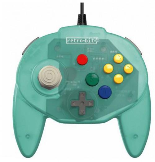 Retro-Bit Tribute64 N64 Port Tribute Nintendo N64 Controller [Sea Salt Ice Cream] (Pre-Order ships September)