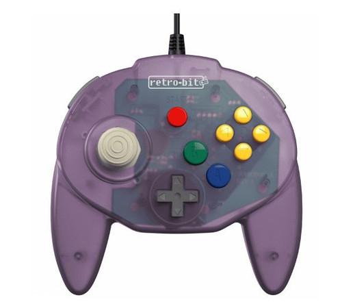 Retro-Bit Tribute64 N64 Port Tribute Nintendo N64 Controller [Atomic Purple] (Pre-Order ships July)