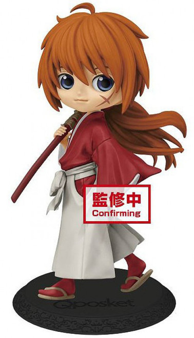 Rurouni Kenshin Q Posket Kenshin Himura Collectible PVC Figure [Meiji Swordsman Romantic Story] (Pre-Order ships November)