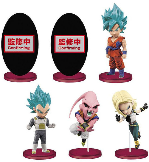 WCF Dragon Ball Legends Collab 2.5-Inch Set of 6 PVC Figures
