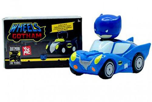 DC Batman Wheels of Gotham Chibi Batmobile Mystery Pack
