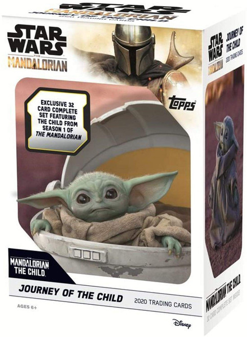 Star Wars The Mandalorian Journey of the Child Trading Card BLASTER Box [32 Card Set]