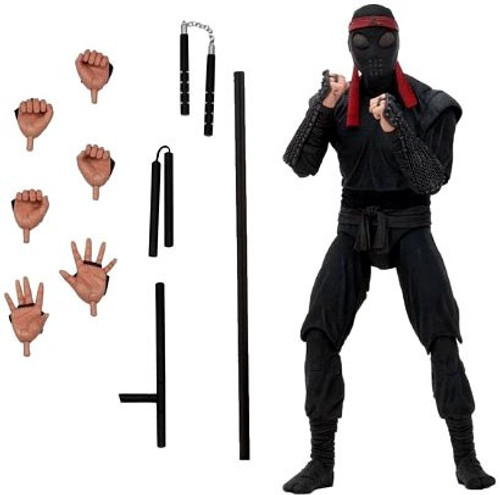 NECA Teenage Mutant Ninja Turtles Foot Soldier (Melee Weaponry) Exclusive Action Figure [1990 Movie]