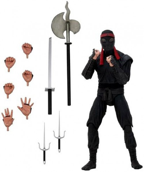 NECA Teenage Mutant Ninja Turtles Foot Soldier (Bladed Weaponry) Exclusive Action Figure [1990 Movie]
