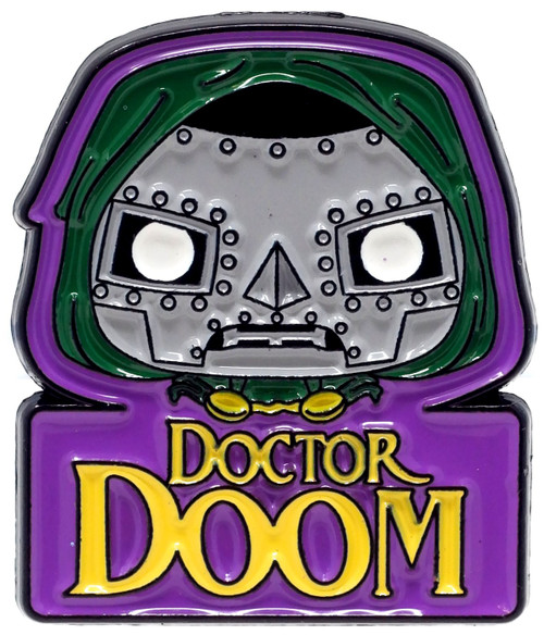 Funko Marvel Collector Corps Doctor Doom Exclusive 1.5-Inch Pin