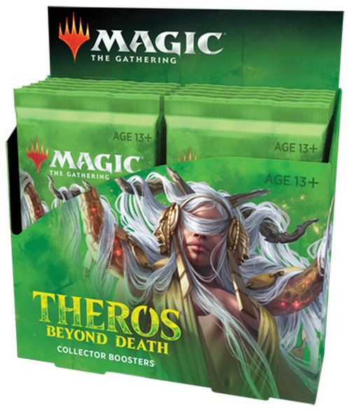 MtG Trading Card Game Theros Beyond Death Collector Booster Box [12 Packs]