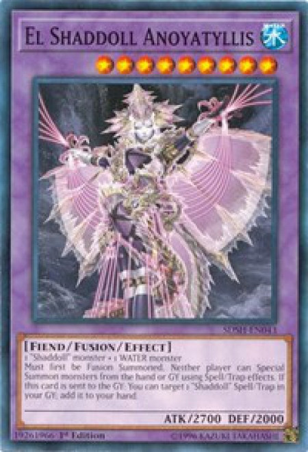 YuGiOh Shaddoll Showdown Structure Deck Common El Shaddoll Anoyatyllis SDSH-EN043