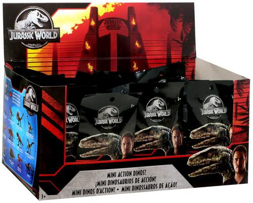Jurassic World Matchbox Series 3 Mini Dinosaur Figure 2-Inch Mystery Box [24 Packs]