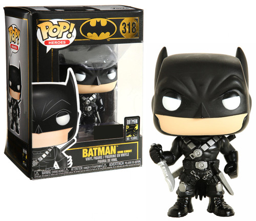 Funko DC Batman 80th POP! Heroes Batman Exclusive Vinyl Figure #318 [Grim Knight]