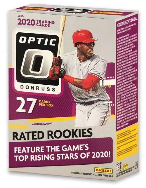 MLB Panini 2020 Donruss Optic Baseball Trading Card BLASTER Box [7 Packs]