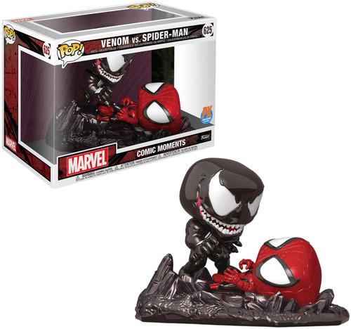 Funko POP! Marvel Venom Vs. Spider-Man Exclusive Vinyl Figure 2-Pack #625 [Comic Moments]