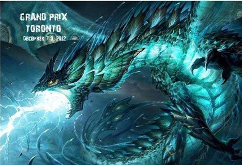 Ultra Pro MtG 2012 Core Set Grand Prix Toronto Playmat
