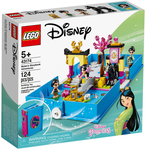 LEGO Disney Princess Mulan's Storybook Adventures Set #43174