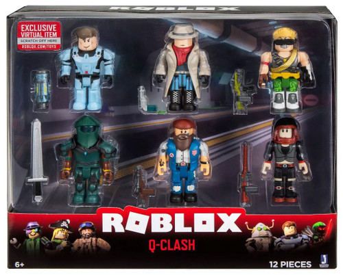 Roblox Q-Clash Action Figure 6-Pack