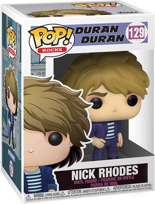 Funko Duran Duran POP! Rocks Nick Rhodes Vinyl Figure [Damaged Package]
