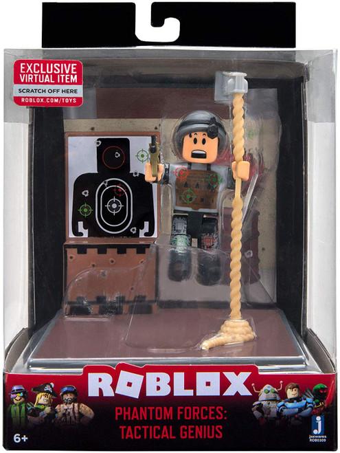 Roblox Desktop Series Phantom Forces: Tactical Genius Action Figure