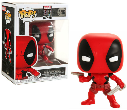 Funko 80th Anniversary POP! Marvel Deadpool Vinyl Figure [First Appearance, Damaged Package]