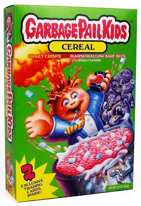 Garbage Pail Kids Crazy Crisps with Marshmallow Barf Bits Exclusive Breakfast Cereal