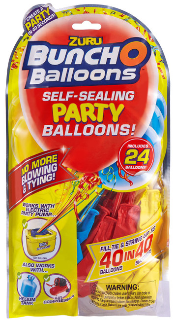 Bunch O Balloons 24-Pack [Blue, Red & Yellow]