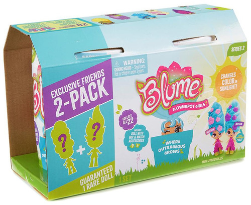 Blume Series 2 Flowerpot Girls Exclusive Mystery 2-Pack