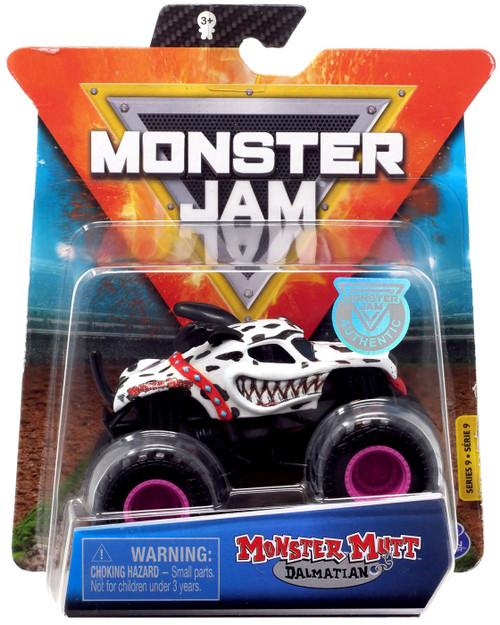 Monster Jam Series 9 Monster Mutt Dalmatian Diecast Car
