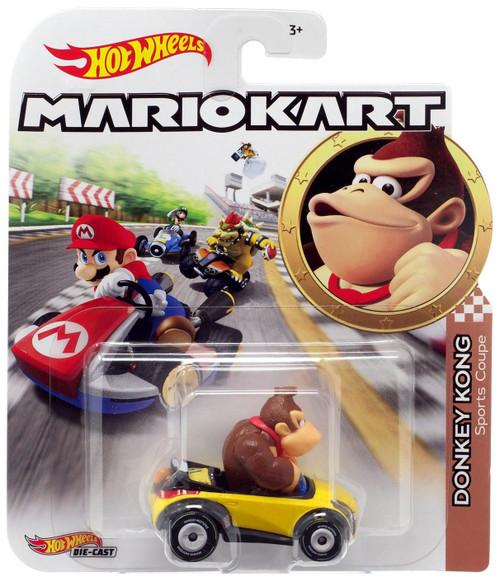 Hot Wheels Mario Kart Donkey Kong Sports Coupe Diecast Car