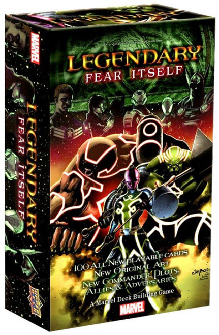 Marvel Legendary Fear Itself Deck Building Game Expansion
