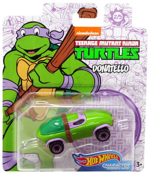 Hot Wheels Teenage Mutant Ninja Turtles Character Cars Donatello Diecast Car