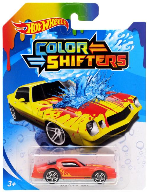 Hot Wheels Color Shifters Camaro Z28 Diecast Car