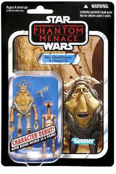 Star Wars Phantom Menace 2012 Vintage Collection Ben Quadinaros & Pit Droid Action Figure 2-Pack #81 [Damaged Package]