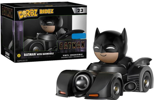 Funko DC Dorbz Ridez Batman with Batmobile Exclusive Vinyl Collectible #23 [Damaged Package]