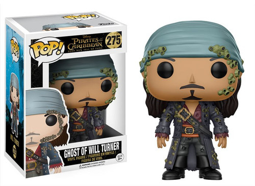Funko Pirates of the Caribbean Dead Men Tell No Tales POP! Disney Ghost of Will Turner Vinyl Figure #275 [Damaged Package]