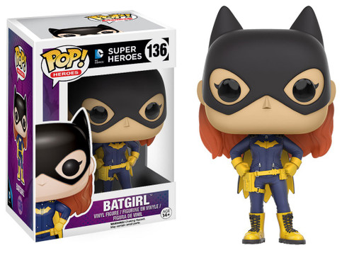 Funko Batman DC Super Heroes POP! Heroes Batgirl Vinyl Figure #136 [2016 Version, Damaged Package]