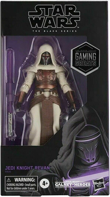 Star Wars Galaxy of Heroes Black Series Jedi Knight Revan Exclusive Action Figure [Gaming Greats]