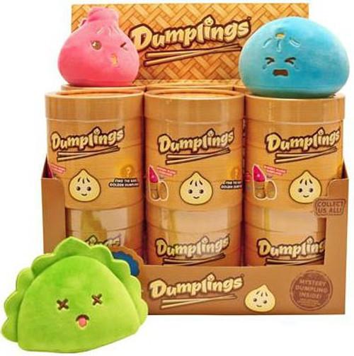 Food Plush Dumplings Mystery Box [12 Packs]