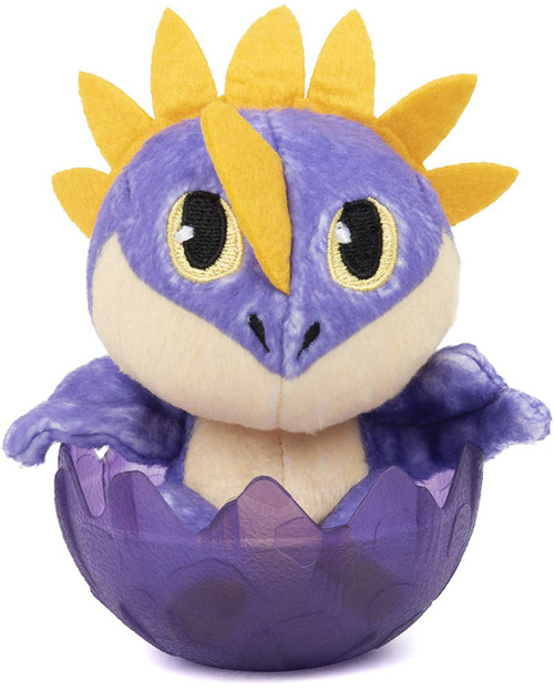 How to Train Your Dragon The Hidden World Deadly Nadder 3-Inch Egg Plush