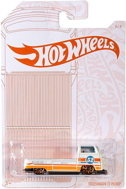 Hot Wheels Pearl & Chrome Volkswagen T2 Pickup Diecast Car #6/6