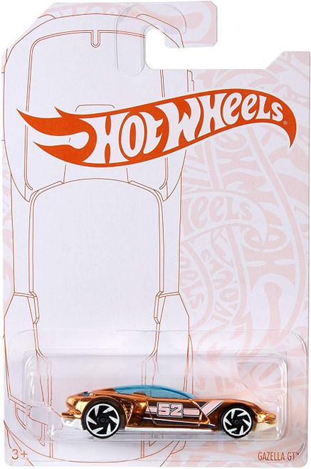 Hot Wheels Pearl & Chrome Gazella GT Diecast Car