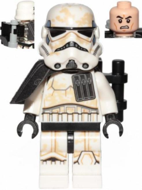 LEGO Star Wars Episode 4/5/6 Sandtrooper (Enlisted) Minifigure [Black Pauldron Loose]