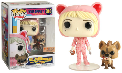 Funko DC Birds of Prey POP! Heroes Harley Quinn Broken Hearted Exclusive Vinyl Figure #310