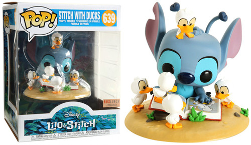 Funko Lilo & Stitch POP! Disney Stitch with Ducks Exclusive Vinyl Figure #639