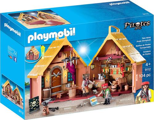 Playmobil Pirates Take Along Pirate Stronghold Set #9112