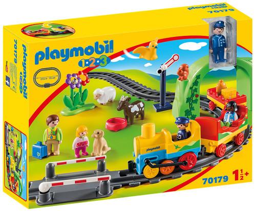 Playmobil 1.2.3 My First Train Set Set #70179
